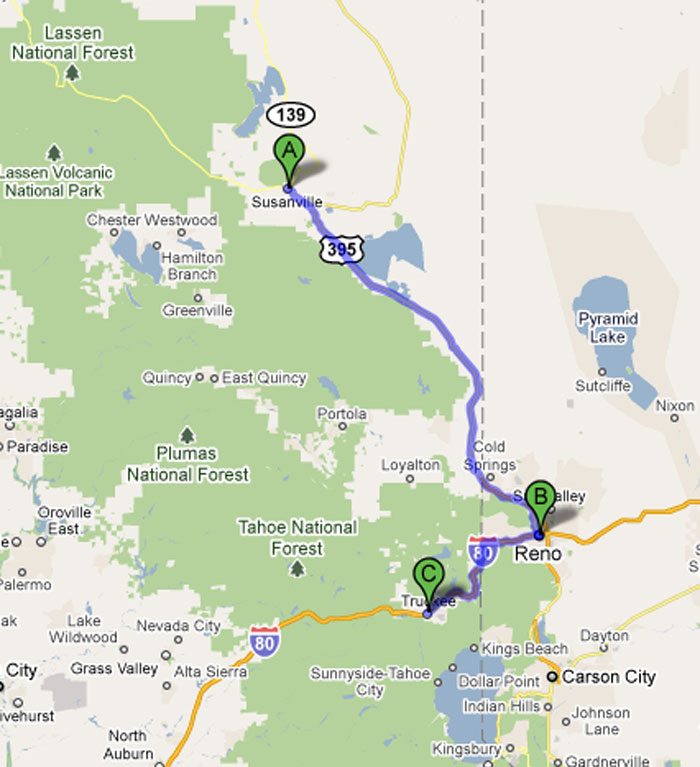 Road Trip 2011 - Reno, NV & Tahoe National Forest - Day 67 ...