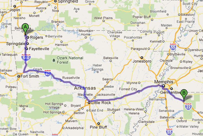 Road trip 2011 holly springs ms to chattanooga tn - Olive garden spring hill tennessee ...