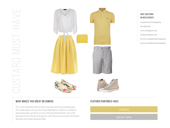 pantone custard yellow and glacier grey what to wear with yellow skirt